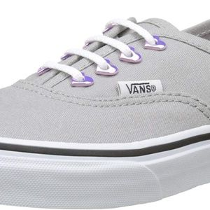 Vans Eyelet Authentic Grey Kids Shoes